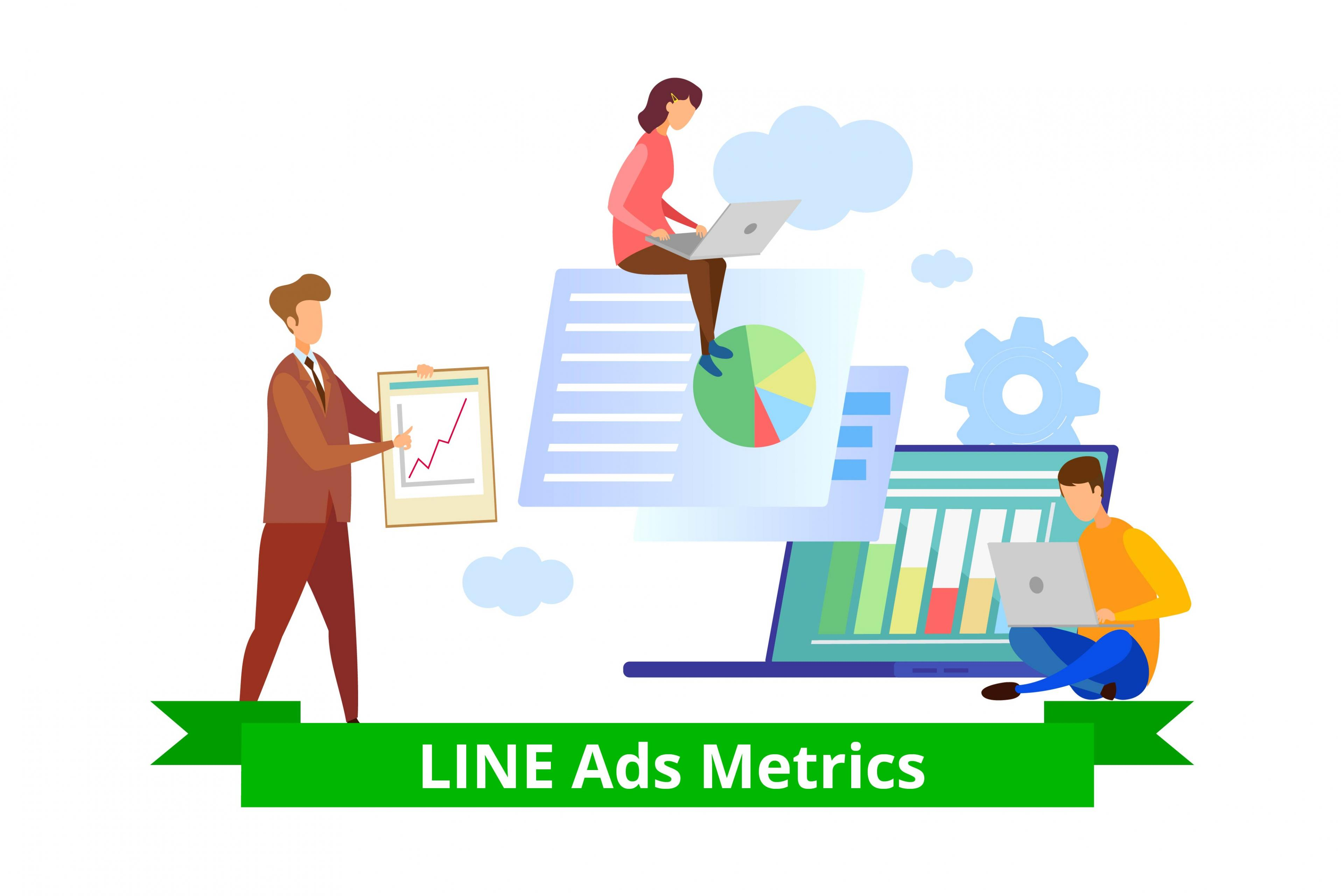 LINE Japan Ads: Analysing CTRs, Impressions, Reach & Other Metrics