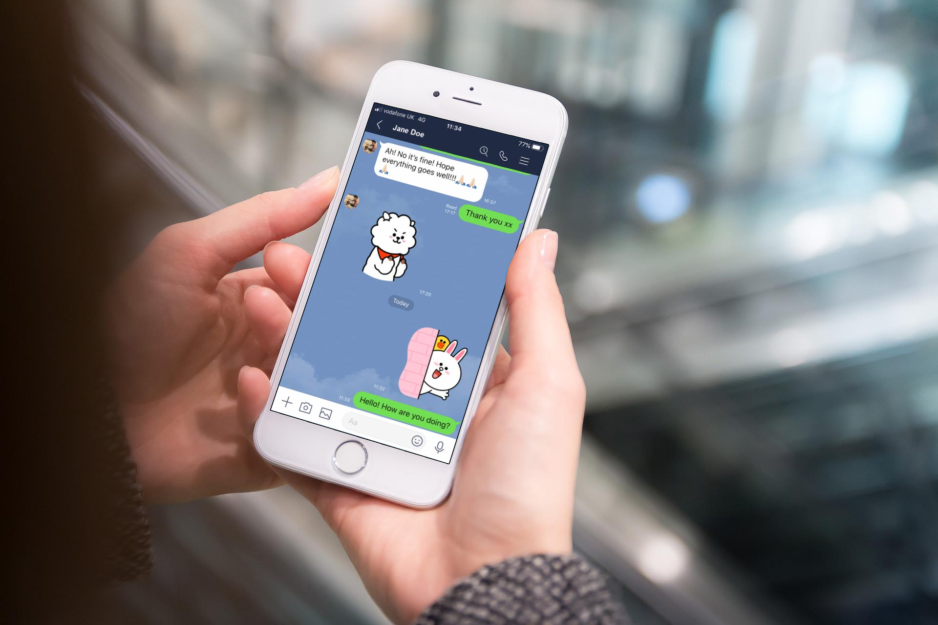 LINE Messaging App